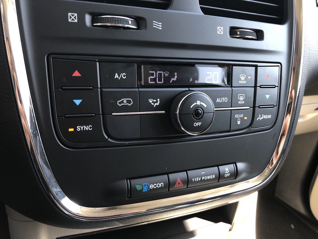 Black 2019 Dodge Grand Caravan Central Dash Options Photo in Fort Macleod AB