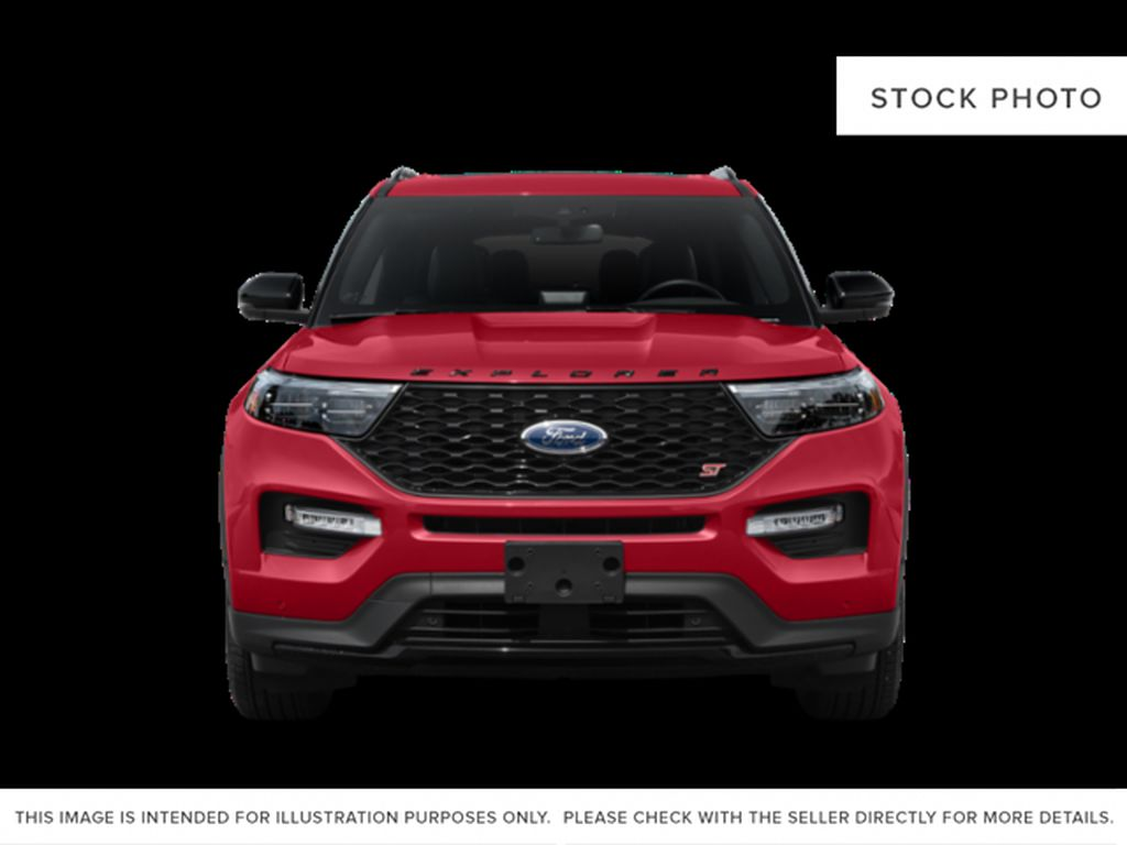 Black[Agate Black Metallic] 2020 Ford Explorer Front Vehicle Photo in Fort Macleod AB