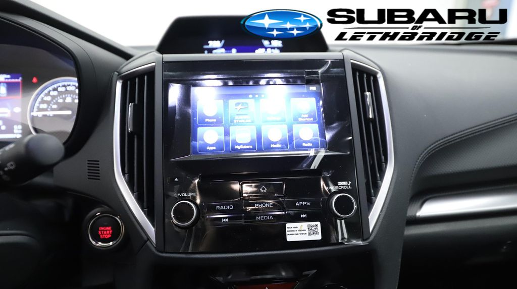Green 2021 Subaru Forester Steering Wheel and Dash Photo in Lethbridge AB