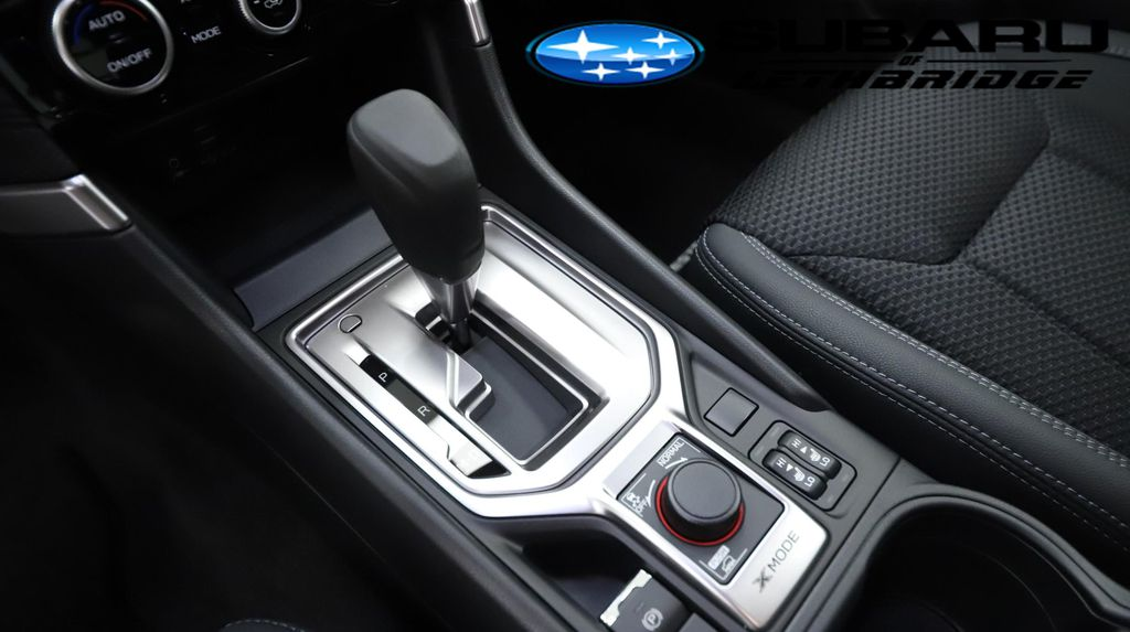 Green 2021 Subaru Forester Central Dash Options Photo in Lethbridge AB