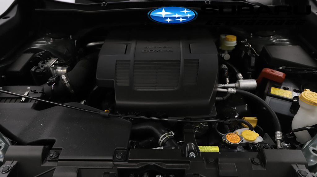 Green 2021 Subaru Forester Engine Compartment Photo in Lethbridge AB