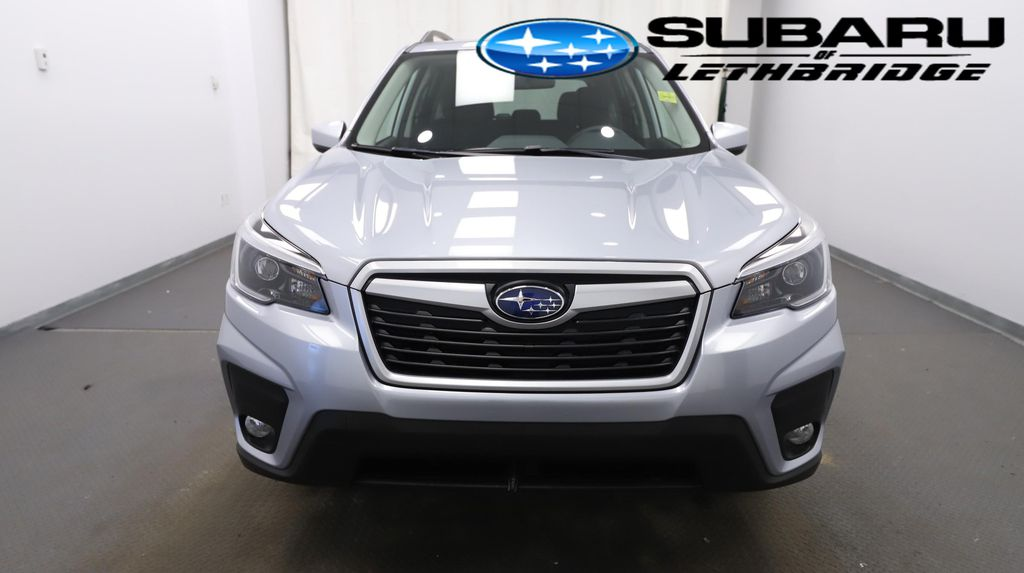 Silver 2021 Subaru Forester Front Vehicle Photo in Lethbridge AB