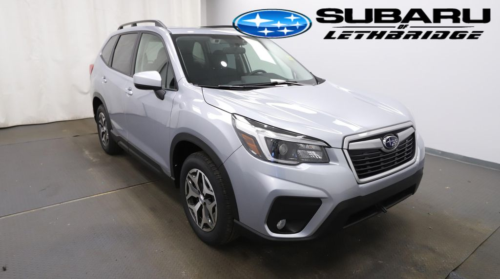 Silver 2021 Subaru Forester Left Front Head Light / Bumper and Grill in Lethbridge AB
