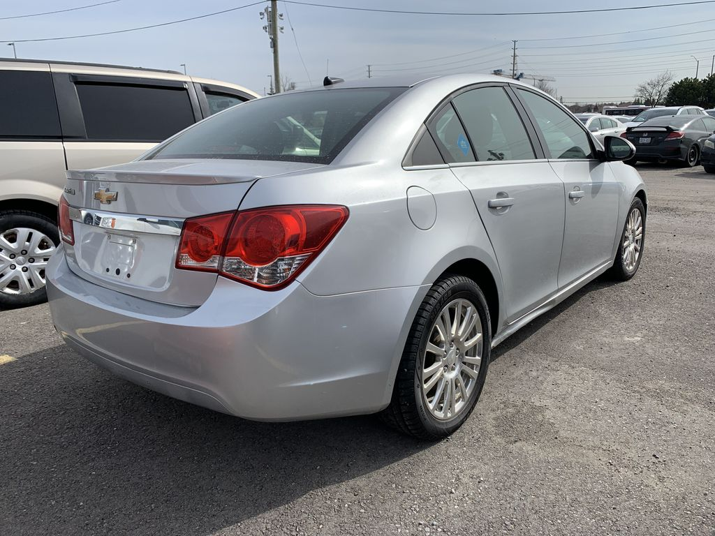 Silver[Silver Ice Metallic] 2013 Chevrolet Cruze Left Front Rim and Tire Photo in Brampton ON