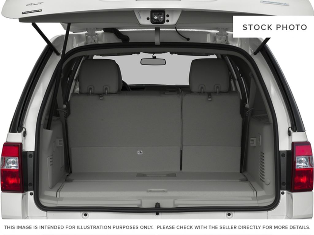 Silver[Ingot Silver Metallic] 2017 Ford Expedition Max Trunk / Cargo Area Photo in Fort Macleod AB
