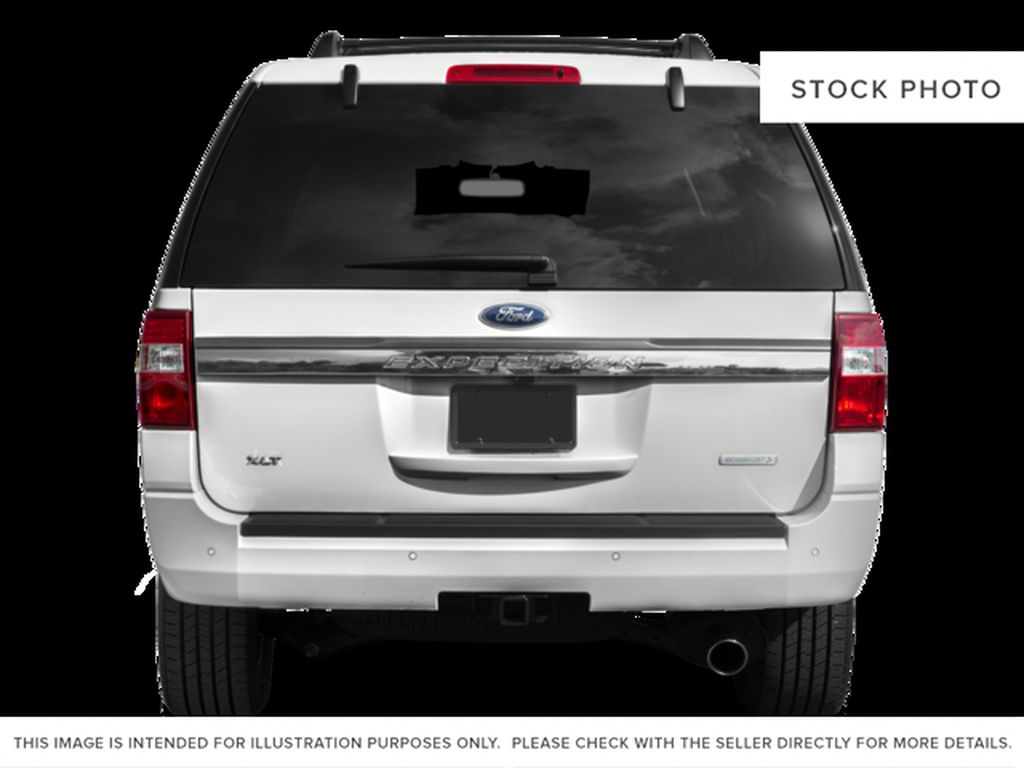 Silver[Ingot Silver Metallic] 2017 Ford Expedition Max Rear of Vehicle Photo in Fort Macleod AB