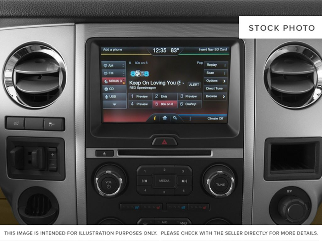 Silver[Ingot Silver Metallic] 2017 Ford Expedition Max Radio Controls Closeup Photo in Fort Macleod AB