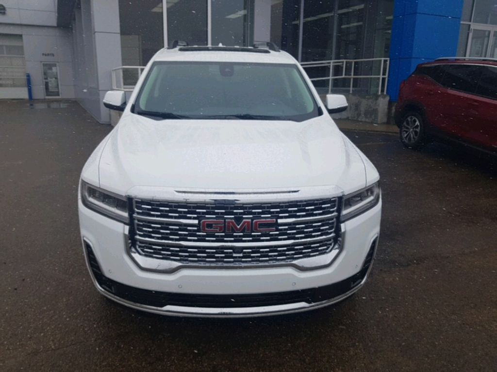 White 2021 GMC Acadia Left Front Corner Photo in Barrhead AB