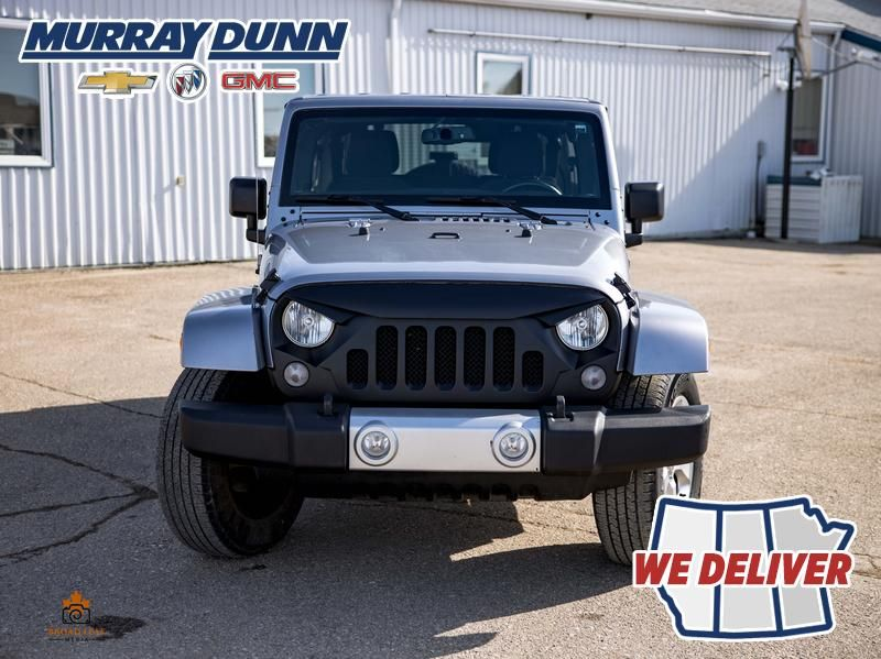Black[Black] 2015 Jeep Wrangler Unlimited sahara Front Vehicle Photo (Low) in Nipawin SK