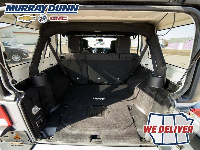 Black[Black] 2015 Jeep Wrangler Unlimited sahara Trunk / Cargo Area Photo in Nipawin SK