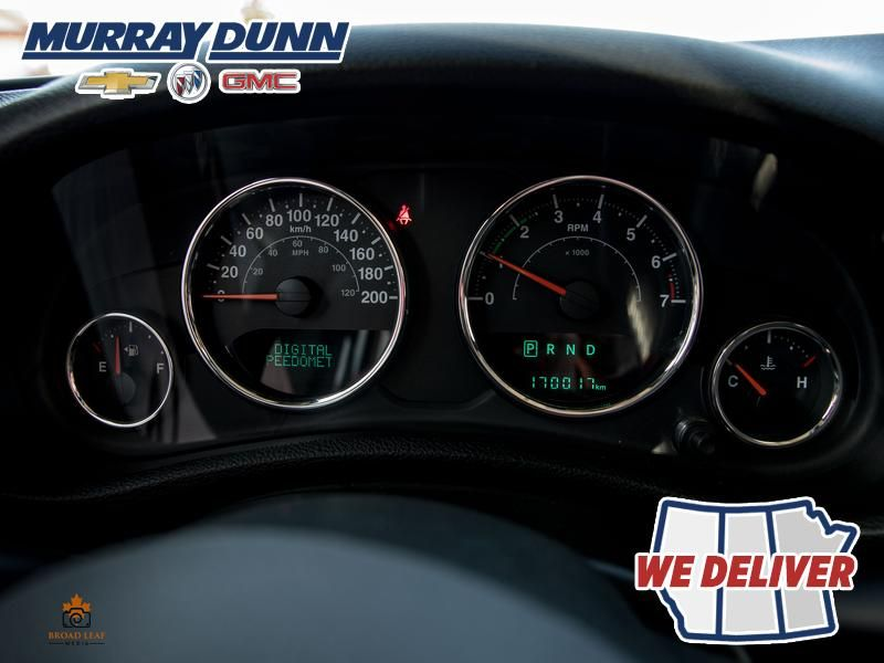 Black[Black] 2015 Jeep Wrangler Unlimited sahara Odometer Photo in Nipawin SK