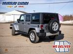 Black[Black] 2015 Jeep Wrangler Unlimited sahara Left Rear Corner Photo in Nipawin SK