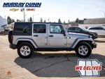 Black[Black] 2015 Jeep Wrangler Unlimited sahara Right Side Photo in Nipawin SK