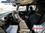 Black[Black] 2015 Jeep Wrangler Unlimited sahara Left Front Interior Photo in Nipawin SK