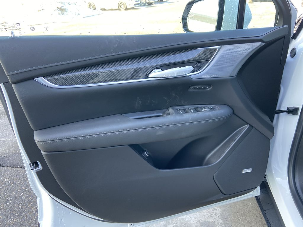 White[Crystal White Tricoat] 2021 Cadillac XT5 Sport Left Front Interior Door Panel Photo in Calgary AB