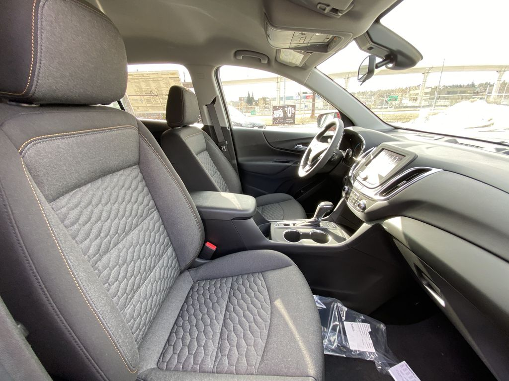 Red[Cajun Red Tintcoat] 2021 Chevrolet Equinox LT Right Side Front Seat  Photo in Calgary AB