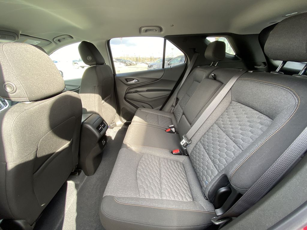 Red[Cajun Red Tintcoat] 2021 Chevrolet Equinox LT Left Side Rear Seat  Photo in Calgary AB