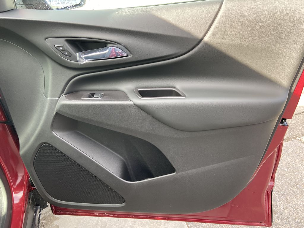 Red[Cajun Red Tintcoat] 2021 Chevrolet Equinox LT Right Front Interior Door Panel Photo in Calgary AB
