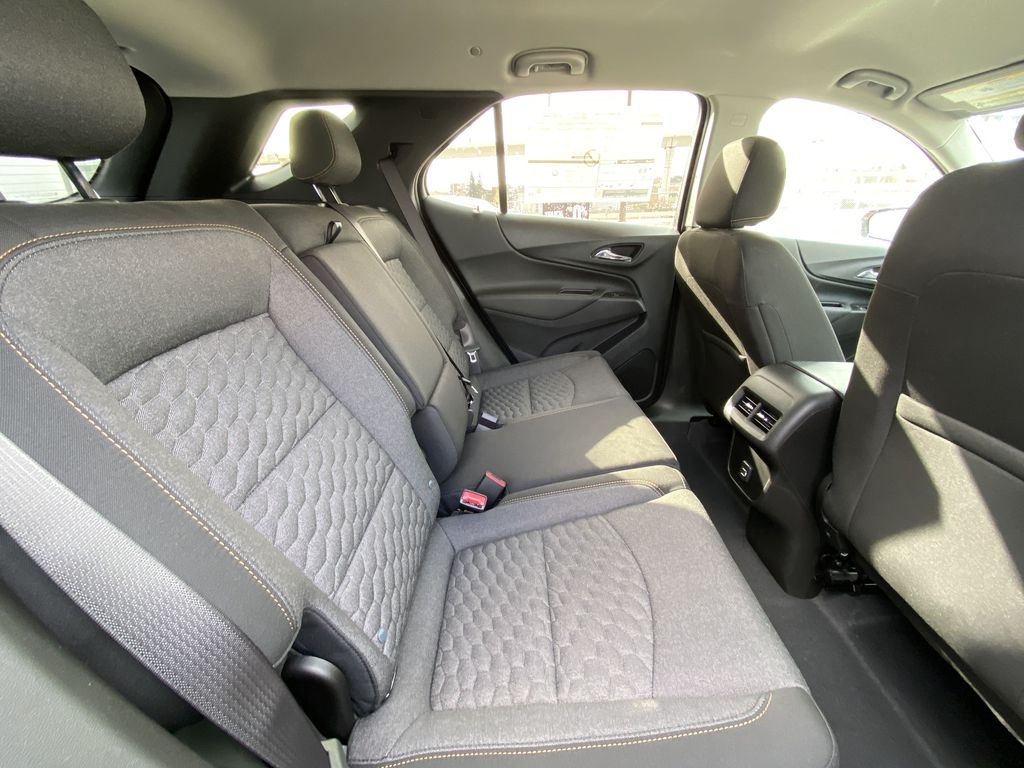 Red[Cajun Red Tintcoat] 2021 Chevrolet Equinox LT Right Side Rear Seat  Photo in Calgary AB