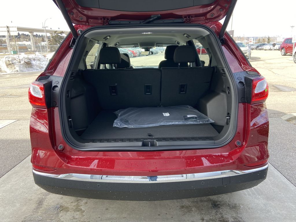 Red[Cajun Red Tintcoat] 2021 Chevrolet Equinox LT Trunk / Cargo Area Photo in Calgary AB