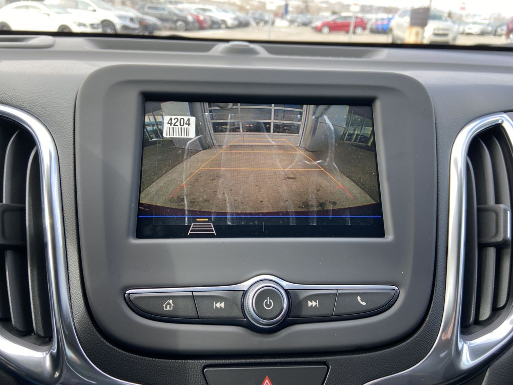 Red[Cajun Red Tintcoat] 2021 Chevrolet Equinox LT Backup Camera Closeup Photo in Calgary AB