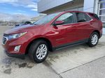 Red[Cajun Red Tintcoat] 2021 Chevrolet Equinox LT Left Front Corner Photo in Calgary AB