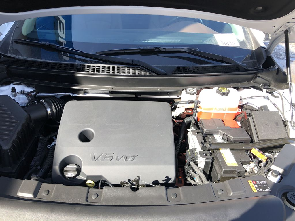 White[White Frost Tricoat] 2021 Buick Enclave Avenir Engine Compartment Photo in Canmore AB