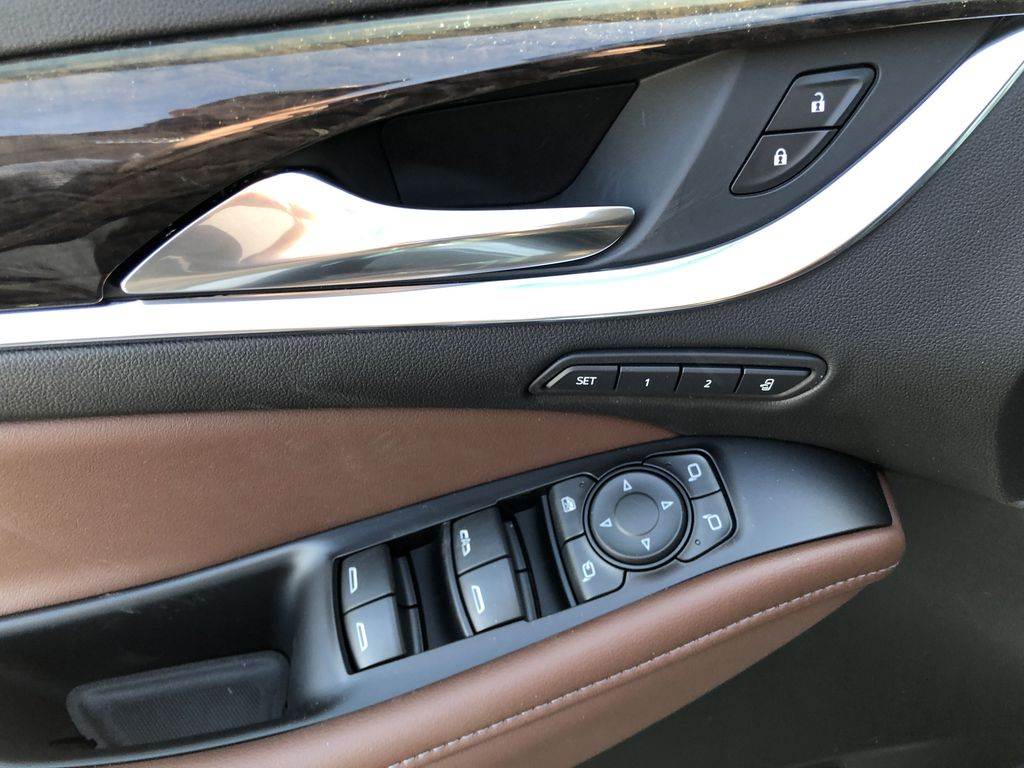 White[White Frost Tricoat] 2021 Buick Enclave Avenir  Driver's Side Door Controls Photo in Canmore AB