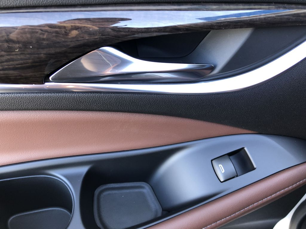 White[White Frost Tricoat] 2021 Buick Enclave Avenir LR Door Panel Ctls Photo in Canmore AB