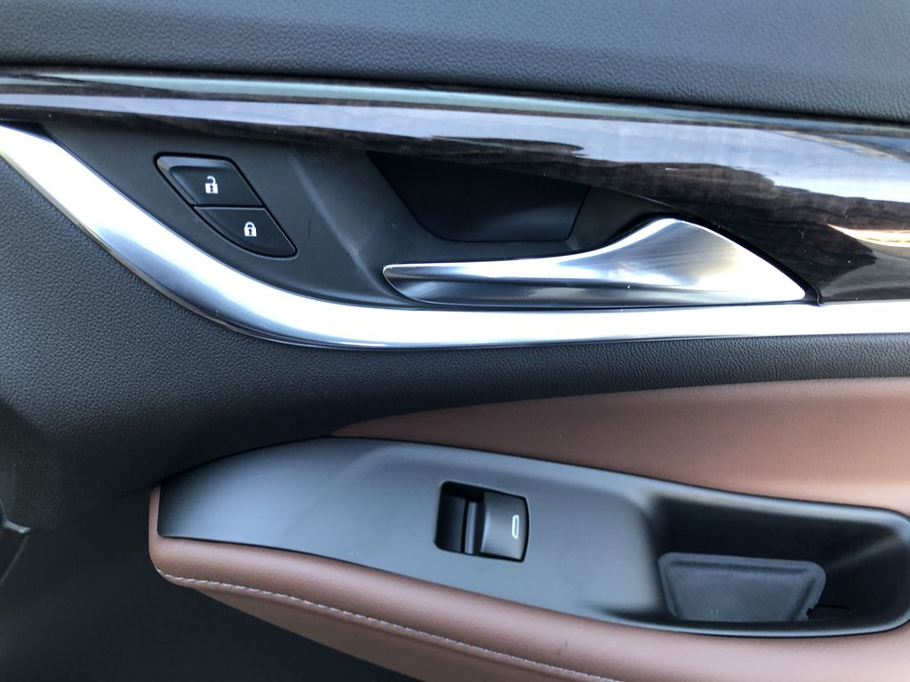 White[White Frost Tricoat] 2021 Buick Enclave Avenir Passenger Front Door Controls Photo in Canmore AB