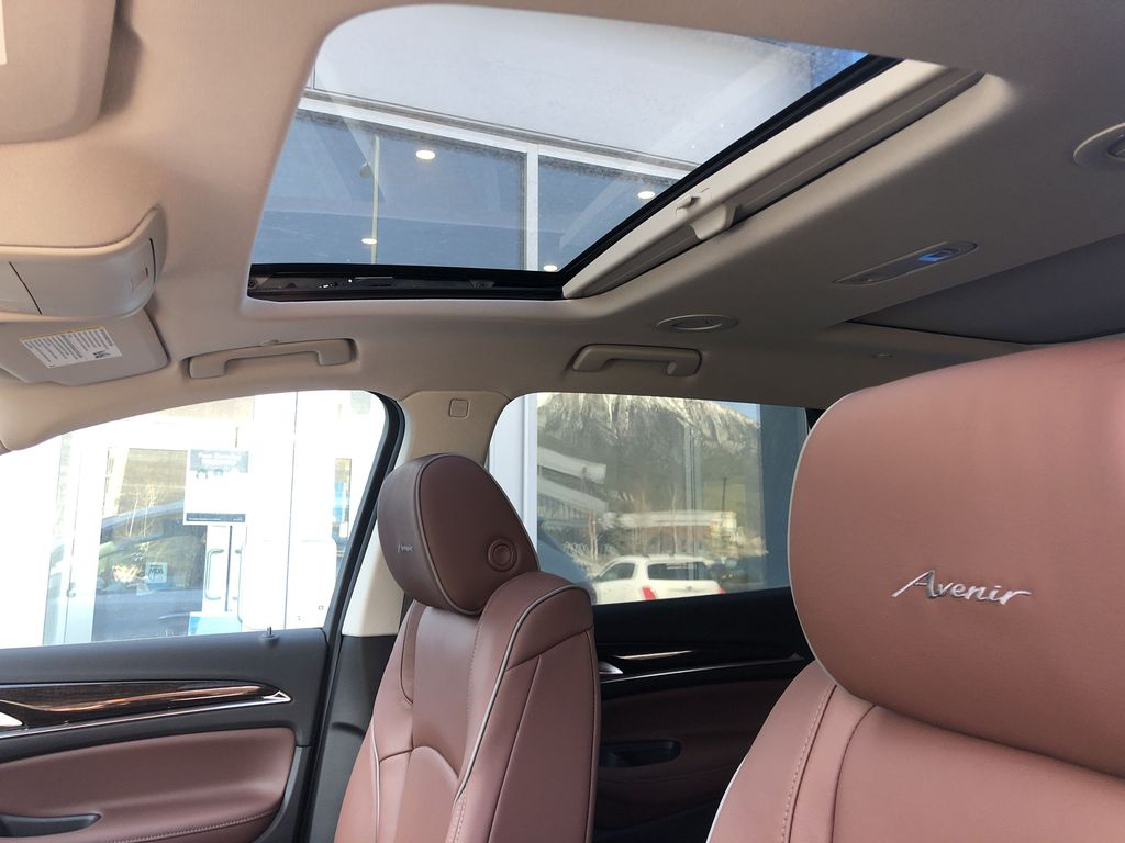 White[White Frost Tricoat] 2021 Buick Enclave Avenir Sunroof Photo in Canmore AB