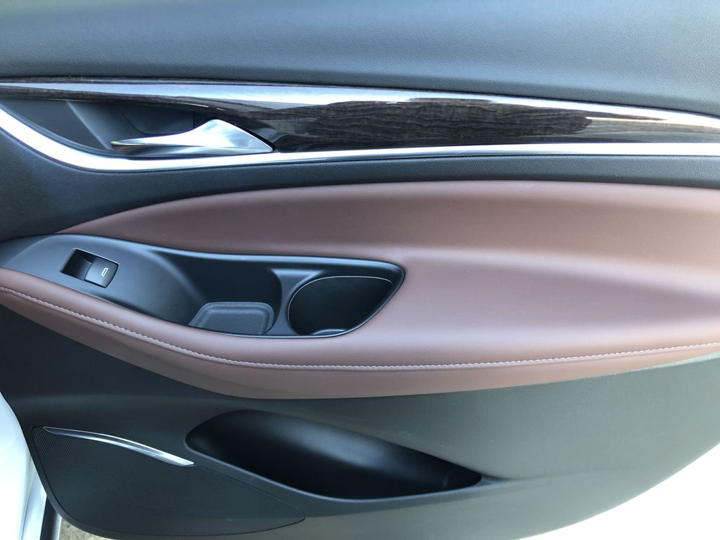 White[White Frost Tricoat] 2021 Buick Enclave Avenir Right Rear Interior Door Panel Photo in Canmore AB