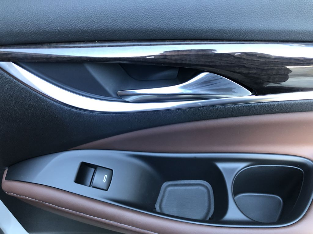 White[White Frost Tricoat] 2021 Buick Enclave Avenir Passenger Rear Door Controls Photo in Canmore AB