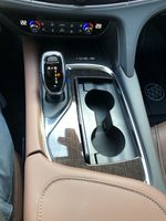 White[White Frost Tricoat] 2021 Buick Enclave Avenir Center Console Photo in Canmore AB