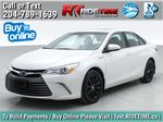 White[Blizzard Pearl] 2017 Toyota Camry Hybrid XLE - Leather, Sunroof, Navigation, Bluetooth Primary Photo in Winnipeg MB