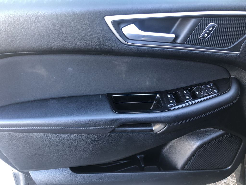 Gray[Magnetic Metallic] 2015 Ford Edge SEL Left Front Interior Door Panel Photo in Canmore AB