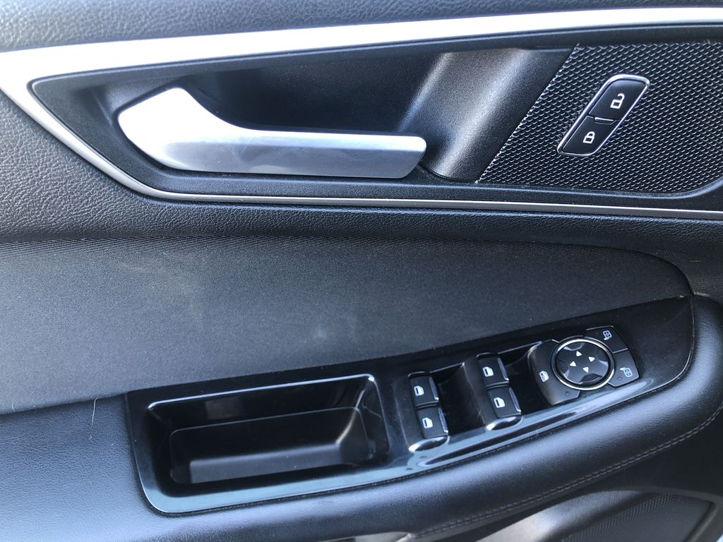 Gray[Magnetic Metallic] 2015 Ford Edge SEL  Driver's Side Door Controls Photo in Canmore AB