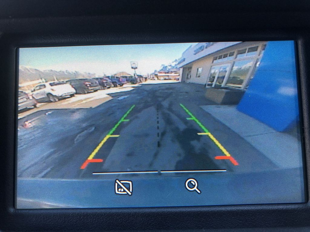 Gray[Magnetic Metallic] 2015 Ford Edge SEL Backup Camera Closeup Photo in Canmore AB