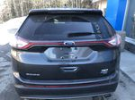 Gray[Magnetic Metallic] 2015 Ford Edge SEL Rear of Vehicle Photo in Canmore AB