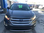 Gray[Magnetic Metallic] 2015 Ford Edge SEL Front Vehicle Photo in Canmore AB
