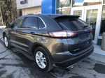 Gray[Magnetic Metallic] 2015 Ford Edge SEL Left Rear Corner Photo in Canmore AB
