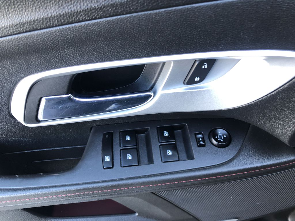 Black[Black] 2012 Chevrolet Equinox  Driver's Side Door Controls Photo in Canmore AB