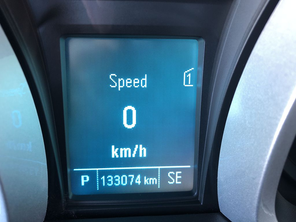 Black[Black] 2012 Chevrolet Equinox Odometer Photo in Canmore AB