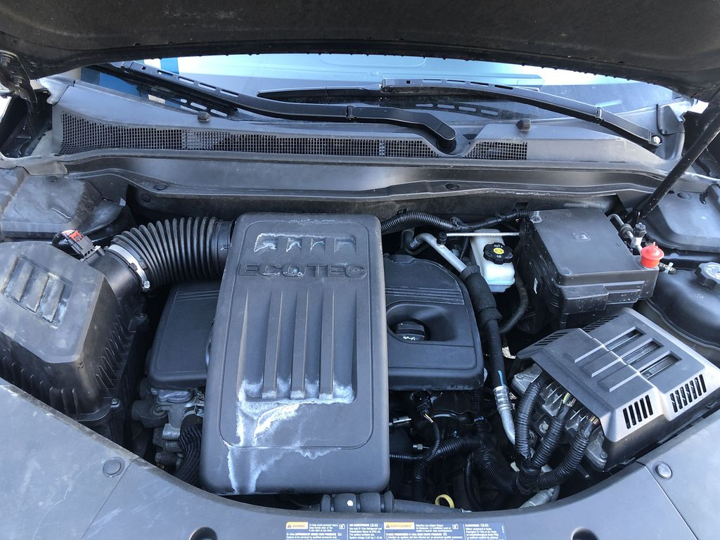 Black[Black] 2012 Chevrolet Equinox Engine Compartment Photo in Canmore AB