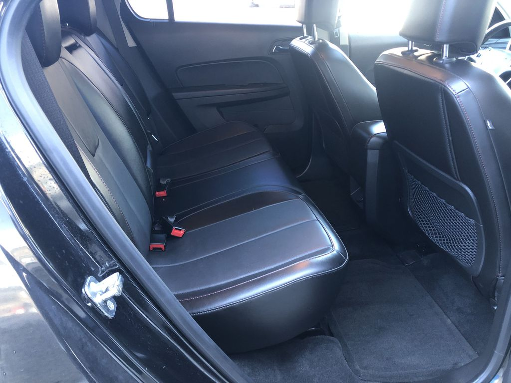 Black[Black] 2012 Chevrolet Equinox Right Side Rear Seat  Photo in Canmore AB