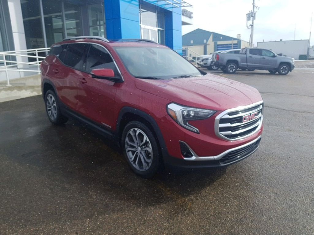 Red 2018 GMC Terrain Left Front Rim and Tire Photo in Barrhead AB