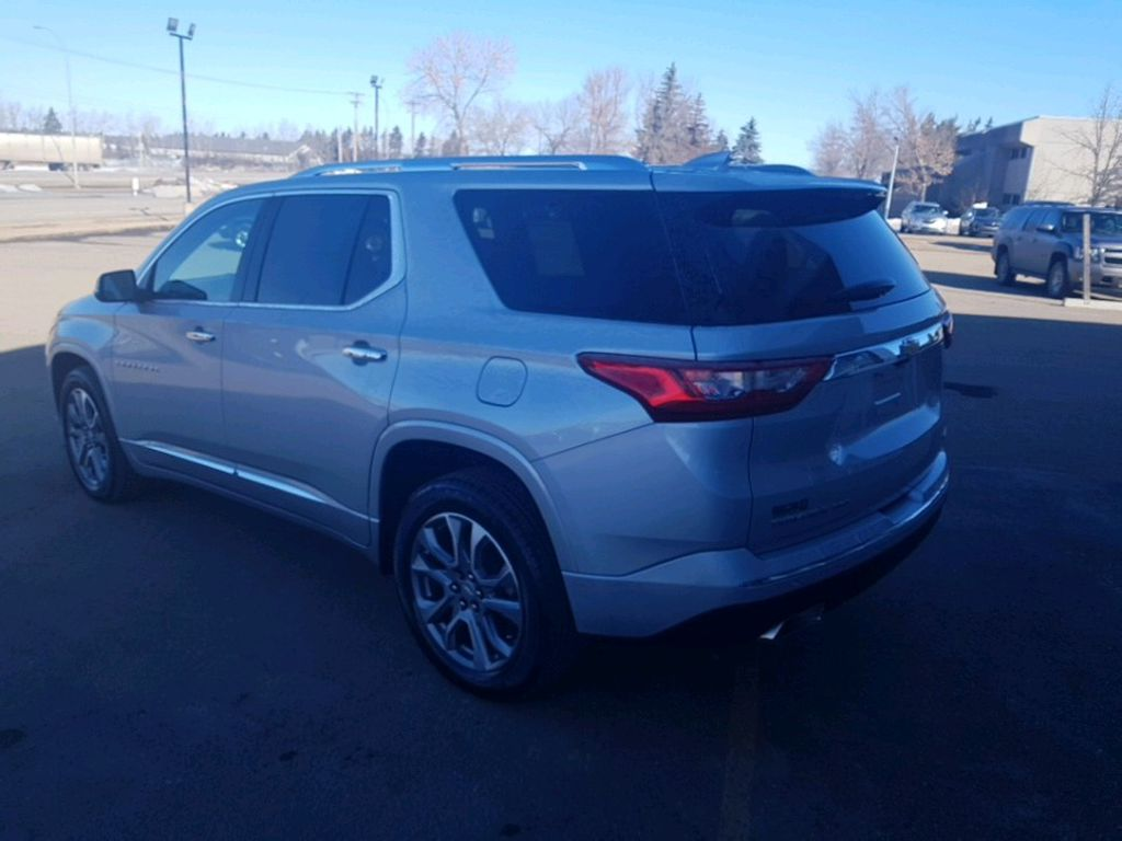 Silver 2021 Chevrolet Traverse Sunroof Photo in Barrhead AB