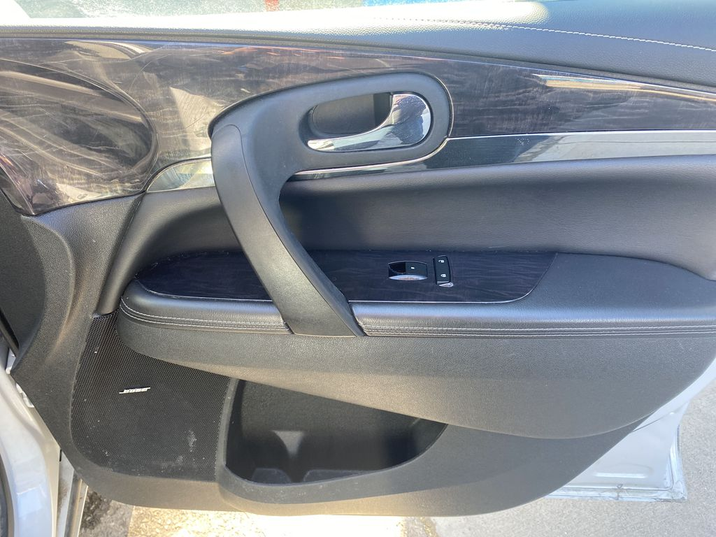 White[White Frost Tricoat] 2017 Buick Enclave Right Front Interior Door Panel Photo in Canmore AB