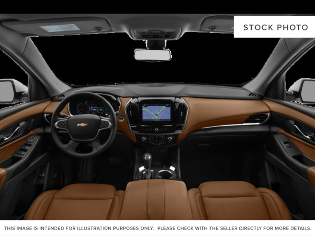 Silver[Silver Ice Metallic] 2018 Chevrolet Traverse Central Dash Options Photo in Canmore AB