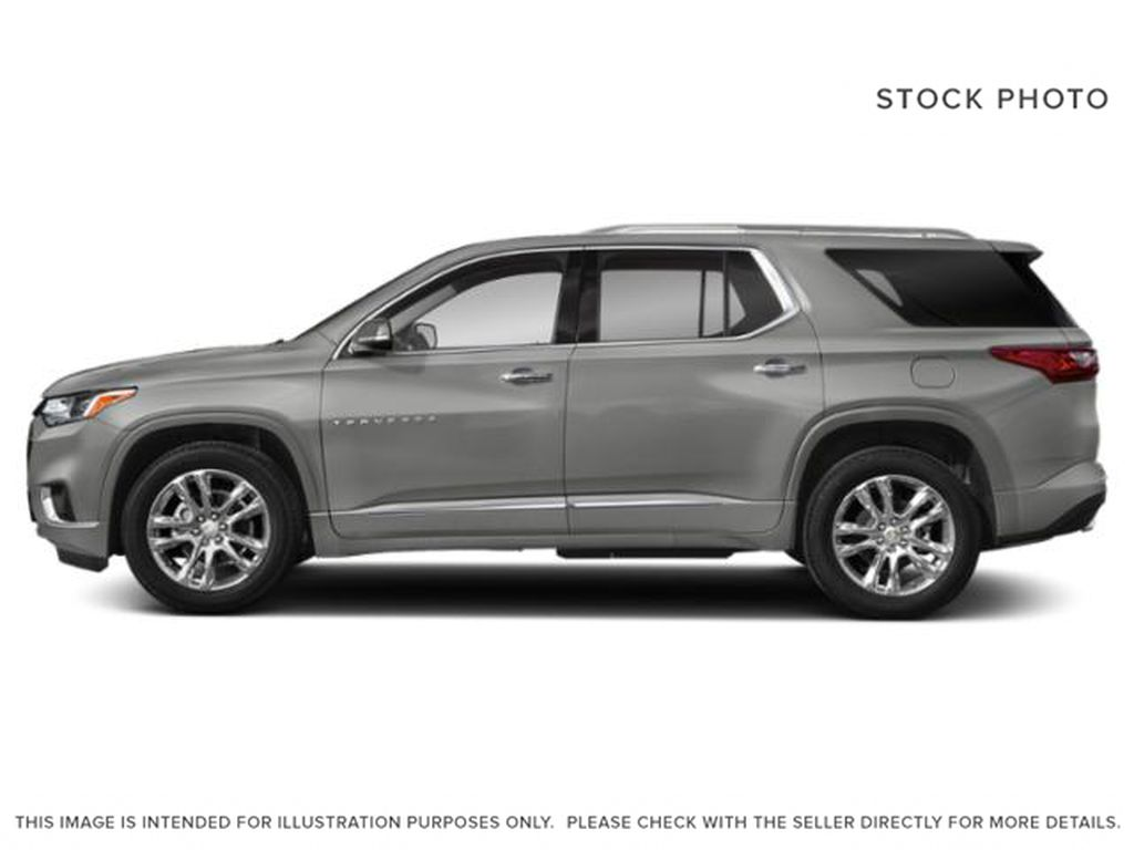 Silver[Silver Ice Metallic] 2018 Chevrolet Traverse Left Side Photo in Canmore AB